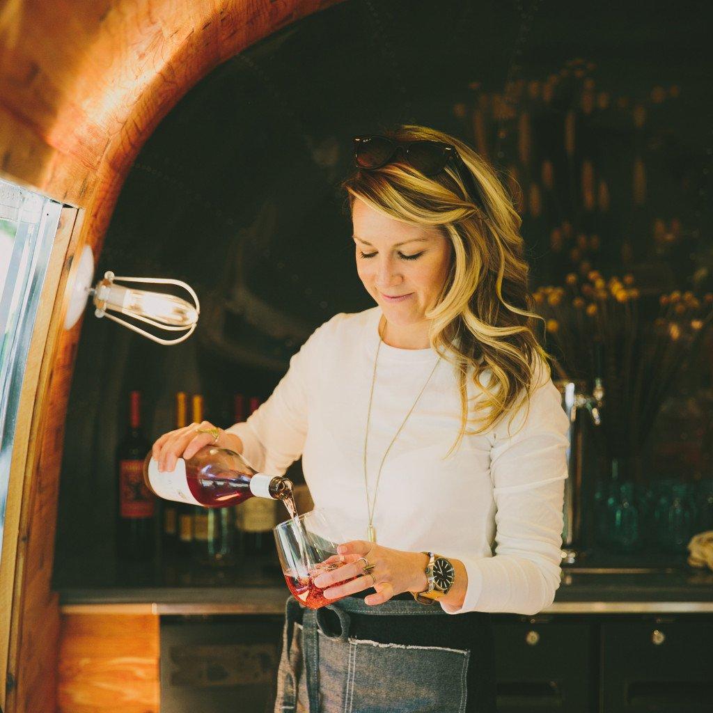 Breana Pouring Wine